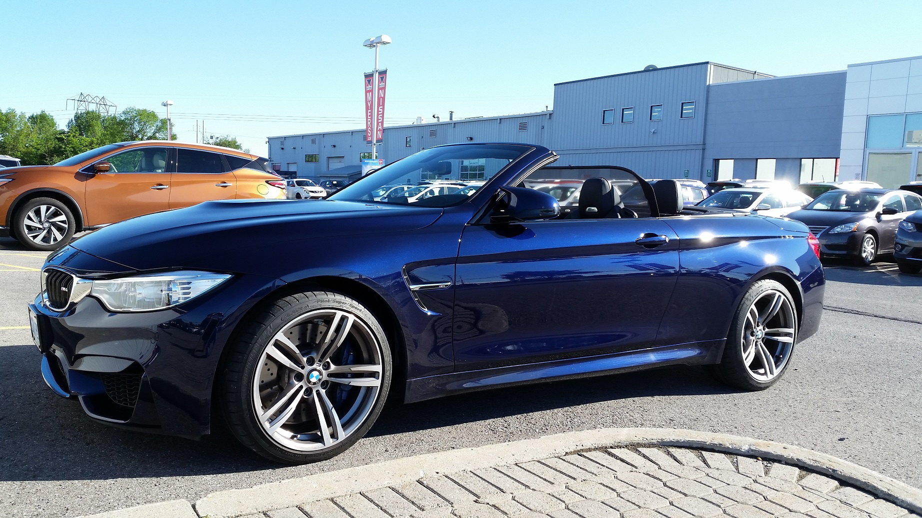 blue convertible bmw m4 - photo #37